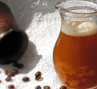 Как приготовить кофейный квас в домашних условиях?