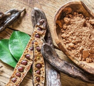Заменитель кофе из плодов рожкового дерева (кэроб)