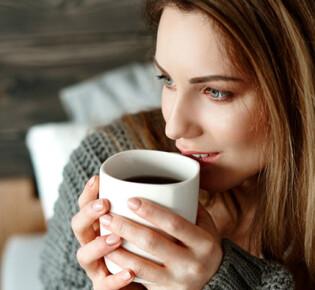 Как взбодрить себя путем употребления кофе?
