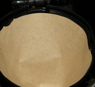 Как сделать бумажный фильтр для кофеварки?
