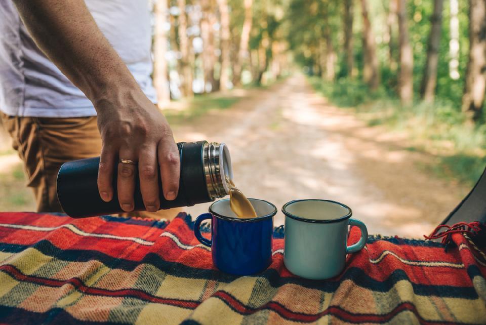 Пикник с кофе