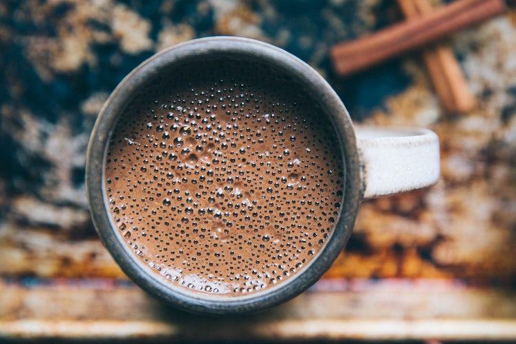 Шоколадный кофейный напиток