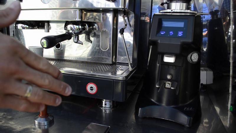 Настройка помола в кофемашине