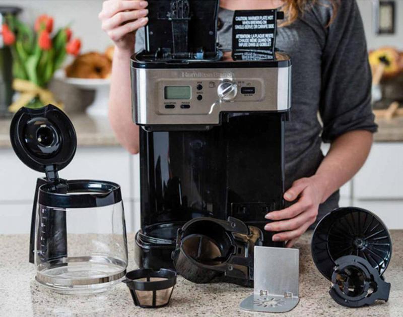 Процесс декальцинации кофемашины
