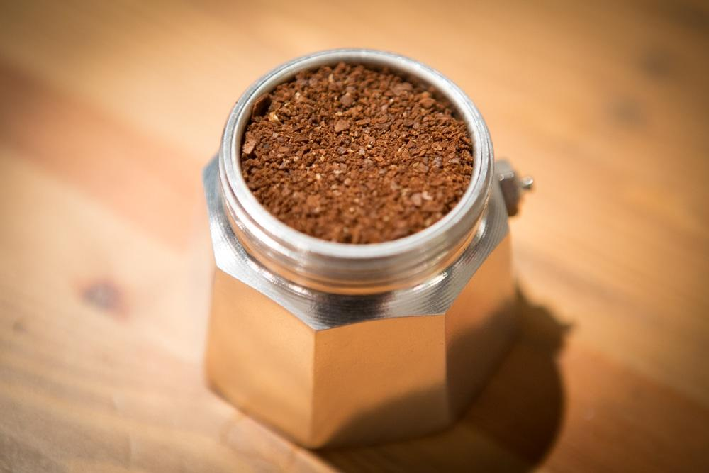 Кофе среднего помола