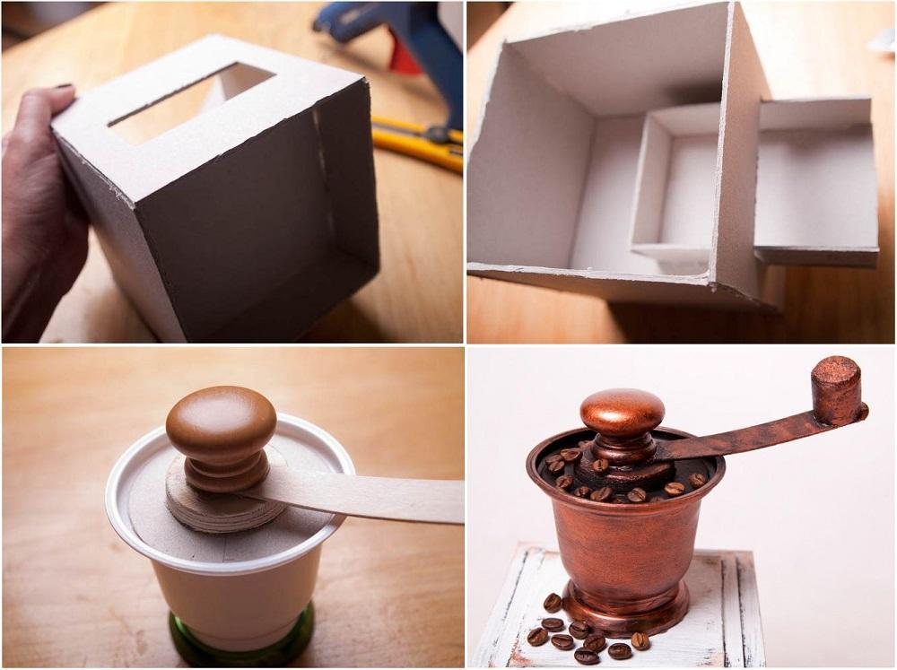 Изготовление ручной кофемолки