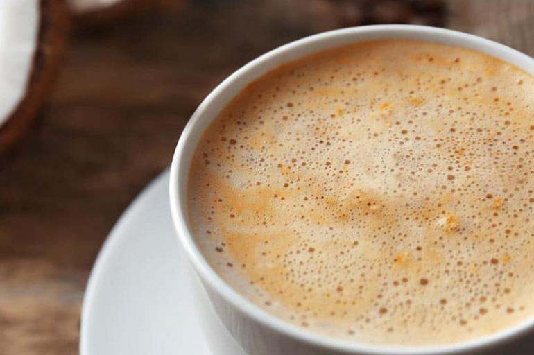 Кокосовый кофе с ванилью