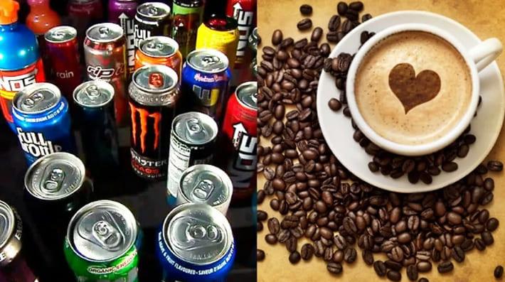 Кофе и энергетики