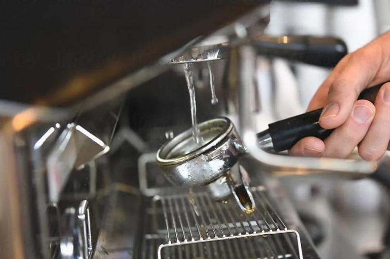 Чистка рожковой кофеварки