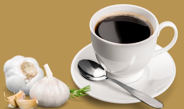 Кофе сваренное с чесноком