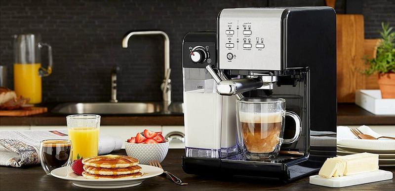 Кофемашина на домашней кухне