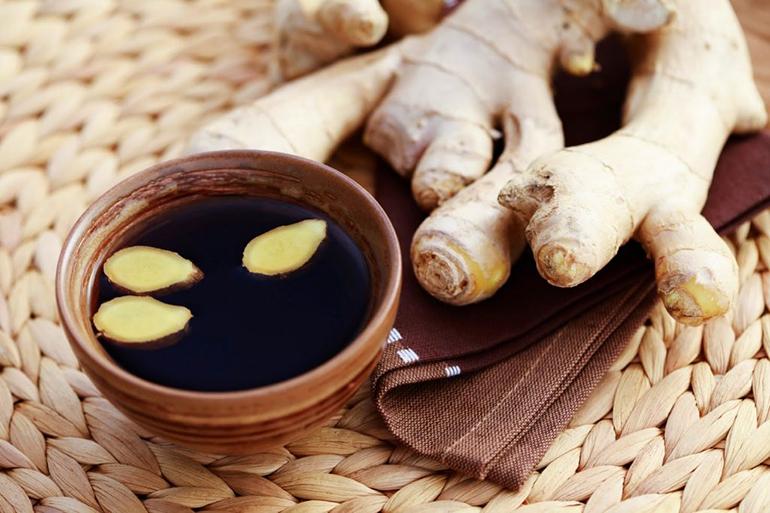 Рецепт с корицей и имбирем