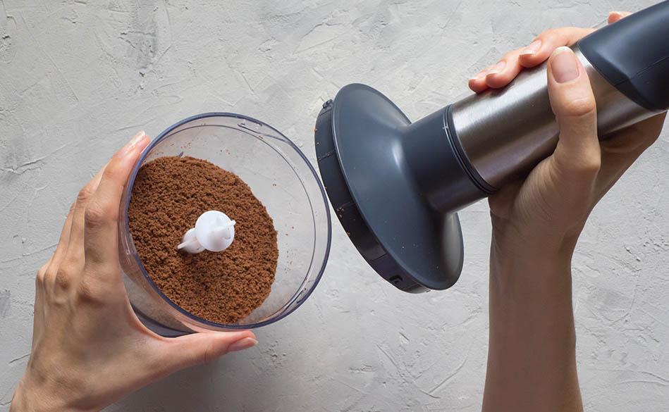 Помол кофе в блендере