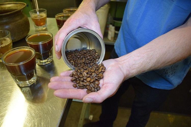 Квас из кофе на соке