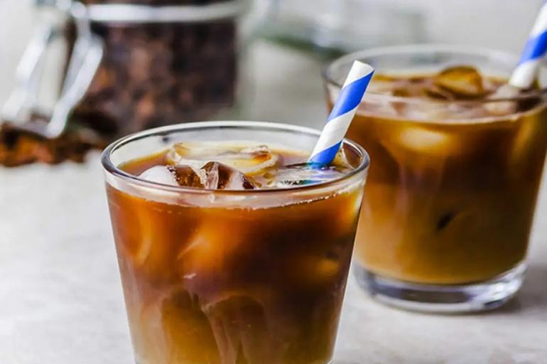 Айс кофе с гренадином