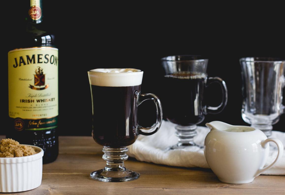Ирландский кофе ингредиенты.