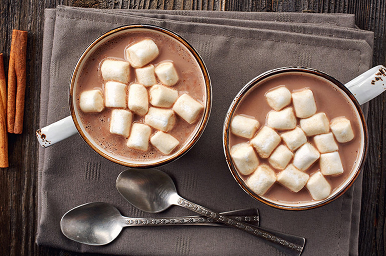 Молотый кофе с зефиром