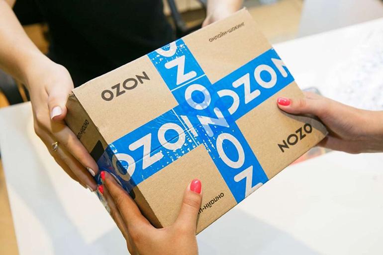 Доставка с OZON