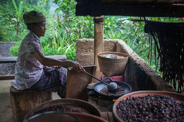Обработка кофе